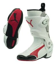 PUMA 1000 v3 Perf. racing motorcycle boots, white-red, LAST PAIRS, BRAND NEW!!!