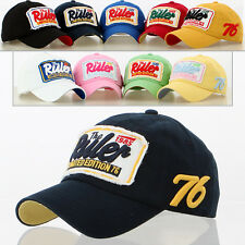 New Men Women Vintage Washed Ball Polo Cap Golf Baseball Polo Hat Trucker Ruler