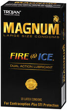 Trojan Magnum Fire and Ice Condoms - Choose Quantity