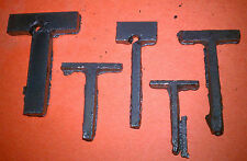 "Raw Metal Art Letter ""T"" Great for Crafts - Decor - Metal Steel - Unique Raw"