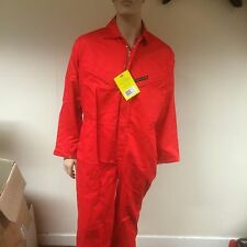 Dickies Zipped Proban Firechief Pyrovatex BoilerSuit / Coverall WD5000 - RED