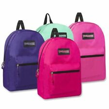 "Trailmaker Classic 17"" Backpack Assorted Colors Girls and Boys New With Tags"