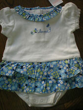 Gymboree NWT Baby Girl Darling Butterfly Onepiece loved
