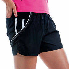 WOMEN LADIES CASUAL SPORTS GYM RUNNING FITNESS SHORTS SIZE S-XXL / 2 COLOURS