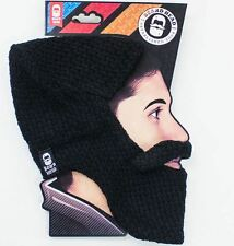 Beard Heads Lumberjack Knit Hat with Beard Combo - Your Choice of Colors Warm!