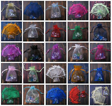 7X9CM Quality Wedding Decorating Organza Jewellery Candy Gift Bag Pouch