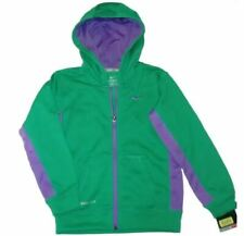 NIKE HOODIE ZIP-UP WARM GIRLS ATHLETIC SPORTS FLEECE HOODED JACKET YOUTH COAT