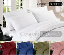 1000TC BRAND NEW 6PC SHEET SET IN ALL COLOR AND SIZE 100%EGYPTIAN COTTON STRIPED