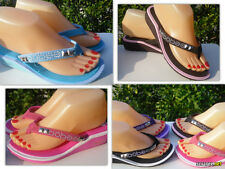 New  Flip Flop Low Wedge Sandals. Many Colors, Sizes 5, 6, 7, 8, 9, 10.