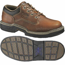 Wolverine Work Shoes Mens Raider MultiShox Contour Welt Oxford W04818 Leather