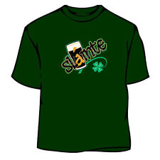 St. Patrick's Day Slaint Beer Pint Irish T-Shirt