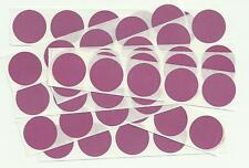 """Pink 1"""" Round Scratch Off Stickers (Pack of 20 or 50) Birthday, Wedding, Favours"""
