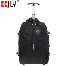 JLY 2 Wheel EVA Trolley Backpack Cabin Travel Bag Case Hand Luggage HDS30