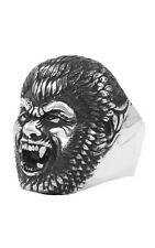 King Baby Studio WOLFIE character ring .925 sterling silver K20-5667