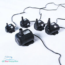 120 - 710 GPH Submersible Pump Aquarium Fish Tank Fountain Water Hydroponic