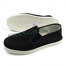 Pure Cotton Chinese Martial Art Kung Fu Shoes Slipper Bruce Lee Multi-layered