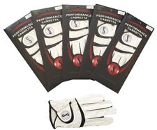 New 4 Pack Genuine Performance Cabretta S Leather Golf Glove - Up to XXX Large