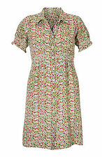 Women's Size 8 - 12 Ladies Really Pretty Green and Pink Floral Dress