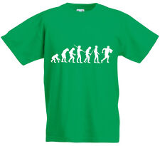Evolution of Lineout, Rugby Ball Sports inspired Kids Printed T-Shirt