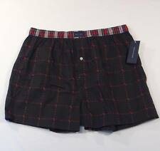 Tommy Hilfiger Black Classic Fit Cotton Boxer Shorts Underwear 1 Pair Mens NWT