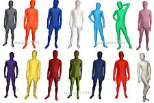 Fancy Dress Party Lycra Spandex Skin Zentai Costumes Bodysuit S-XXL