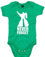 Never Forget, Optimus Prime, Autobot, Transformers Inspired Kid's Babygrow
