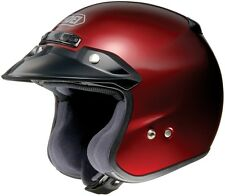 *Fast Shipping* Shoei RJ Platinum-R (Wine Red) Open-Face Motorcycle Helmet