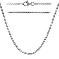 Sterling Silver 925 Popcorn Chain 1.6mm Made in Italy - Lobster Clasp