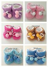 BABY NEWBORN WARM WINTER SLIPPERS BOOTIES SHOES