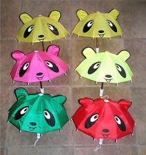 A Very Cute Teddy Bear Toy Umbrella For Girls Ages 3+