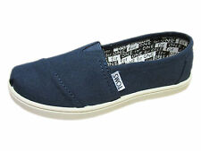 NEW YOUTH GIRLS BOYS TOMS CLASSICS NAVY CANVAS ORIGINAL SO AWESOME