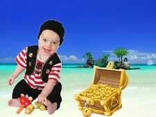Baby Buccaneer Pirate fancy dress BNWT 3-18 months toddlers boys costume outfit
