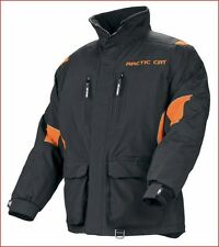 Arctic Cat Men's Black & Orange Snowmobile / Winter BOONDOCKER Coat 5230-46