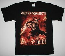 AMON AMARTH SURTUR RISING MELODIC DEATH VIKING METAL NEW BLACK T-SHIRT