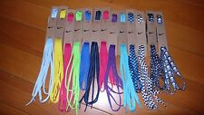 "Official 100% Authentic Nike Oval/Flat Shoe Laces 54"" 45"" 36"" inch Elite"