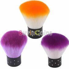 Fashion Nail Art Dust Remover Cleaner Brush Woman Cosmetic Cheek Make Up