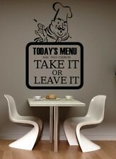 KITCHEN FUNNY COOL SAYING QUOTE WALL ART DECAL STICKER VINYL GRAPHIC XL