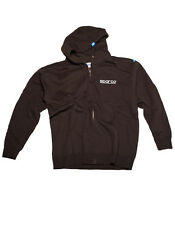 Sparco Racing WWW-ZIP Zipped Sweats Sweater Hoodie Pullover (100% Genuine)