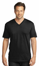 District Made Men's Cotton V Neck Short Sleeve Casual Basic Tee. DT1170