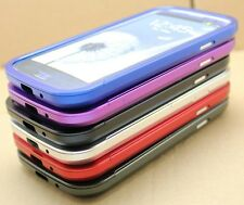 METAL ALUMINUM BUMPER SLIDER CASE COVER FOR SAMSUNG GALAXY HARD ALLOY FRAME NEW