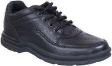 Rockport Mens Shoes World Tour Walking Black MWT18 Medium Wide All Sizes