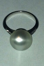 Antique Moon Ring - Sterling Silver