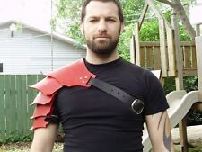 Hardened leather dragon scales shoulder armor, high quality!!! SCA, LARP
