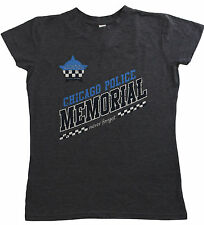 Chicago Police Memorial Distressed Logo Women'sT-Shirt