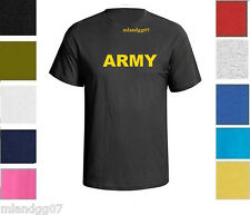 ARMY Military T-Shirt Physical Training Vintage Boot Camp Shirt