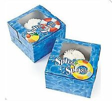 Pool Party Cupcake Boxes AS LOW AS 53¢ea Birthday Favor SHOWER #709711