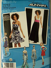 Simplicity -2212- PROJECT RUNWAY - MISSES' DRESS IN 2 LENGTHS Pattern