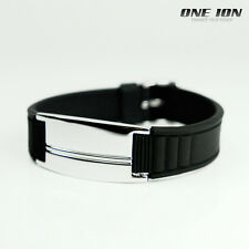 ONE ION AUTHENTIC Plus Power ION Balance Bracelet Sport Wristband Band
