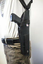 Grisan MC 40, Rock Island M1911l   Vertical Shoulder Holster w/ Double Mag Pouch
