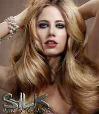 """Human Hair Extensions 18"""" Micro Loop 25 Strands Pre Bonded 100% Remy FREE P&P"""